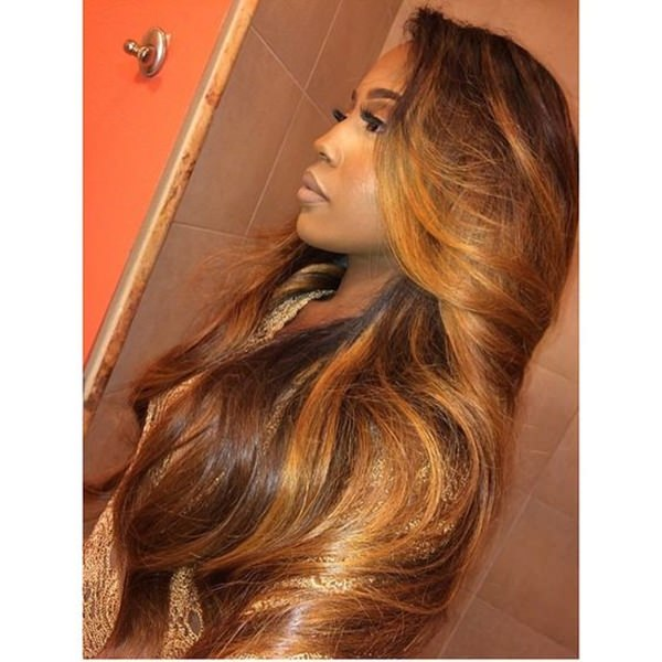 49 perfect curly weave hairstyle that turns your head in 2017 golden blonde pmusecretfo Choice Image