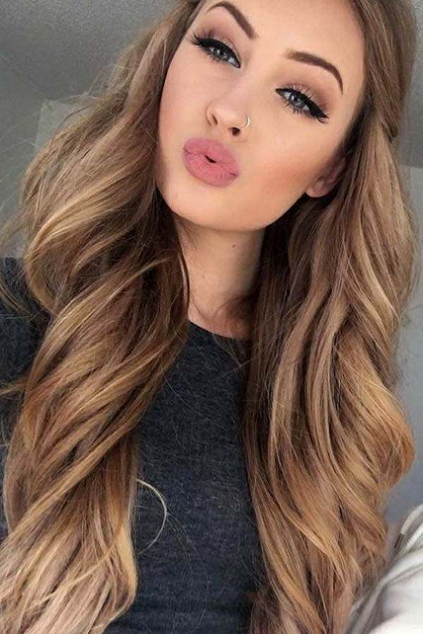 Hair pretty girls with brown 58 of