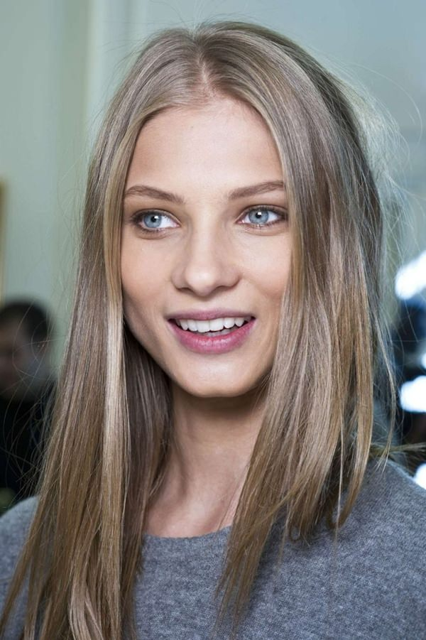 The Combination Of Light Skin And Ash Brown Blonde Is Incomparable, Indeed!  You Get Truly Princess Look Ever! Nice Design