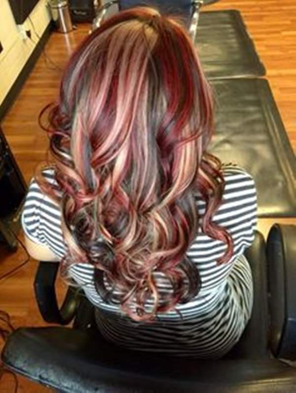 68 incredible caramel highlights trend that you should try once red velvety caramel pmusecretfo Choice Image