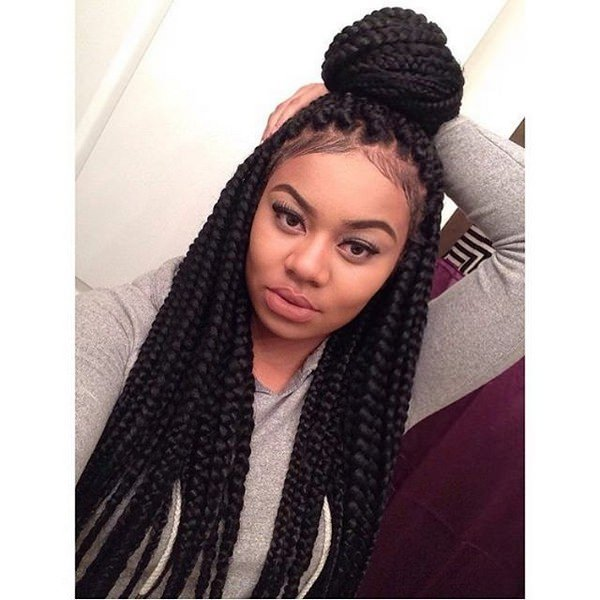 Is Not A Good Idea Of Course You Like It Especially Half Down Braids Gives Vintage Look