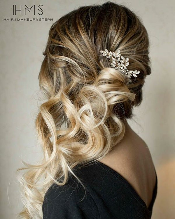Hairstyles For Beautiful Wedding Cute Bridesmaids Hairstyles