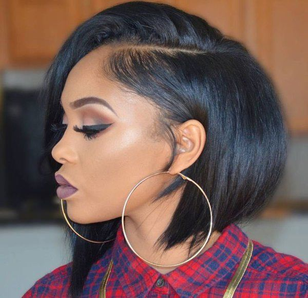 Short Black Haircuts Women 98