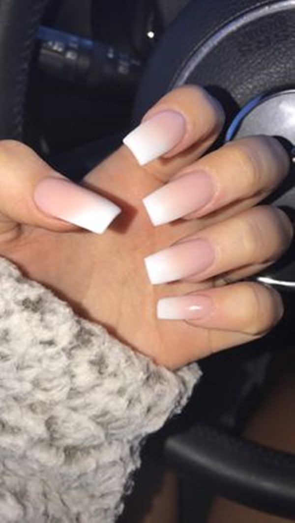 Pure Acrylic Nail Design - 61 Acrylic Nails Designs For Summer 2018 - Style Easily
