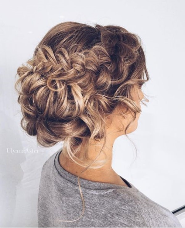 20 Updo With Braids