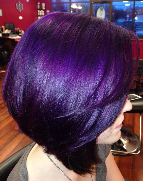 violet hair styles 43 amazing purple hair balayage ombre violet style 8557
