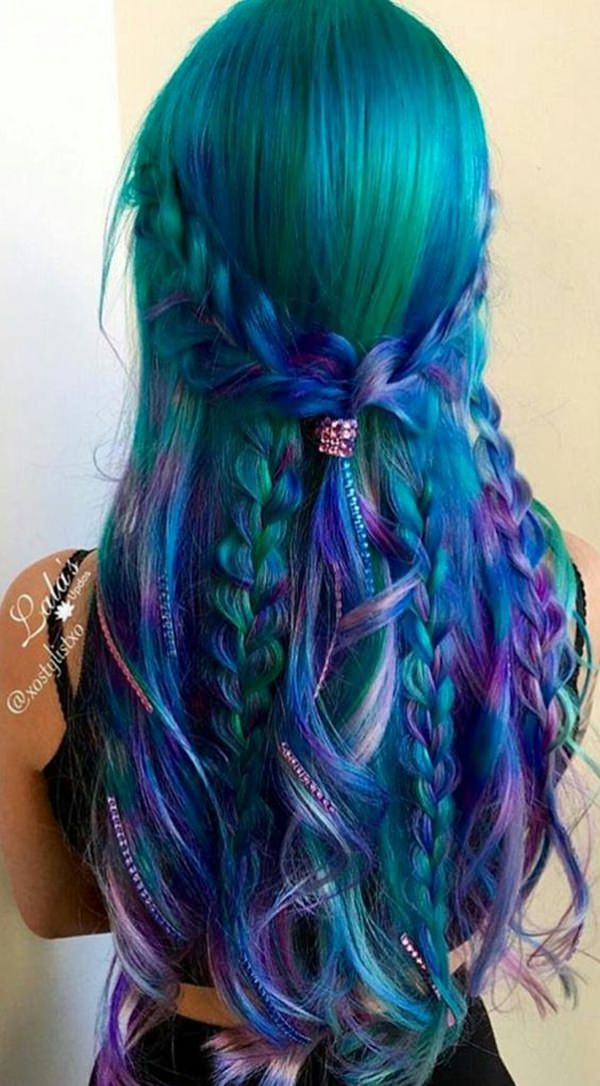 mermaid style hair 73 extraordinary mermaid hairstyles that will turn heads 2680 | 28060417 mermaid hair