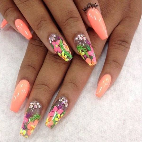 Nail Ideas For April: 73 Coffin Nails To Die For