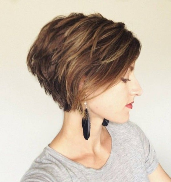 2 Simple Straight With Wedge Hairstyle