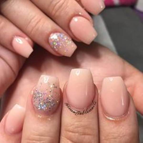 Short Acrylic - 61 Acrylic Nails Designs For Summer 2018 - Style Easily