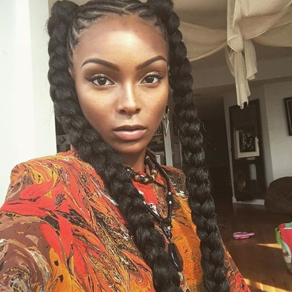 67 Incredible Goddess Braids To Be Inspired From Style Easily