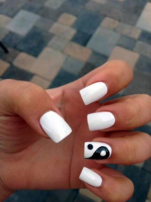 Simple Design - 101 Easy Nail Designs For Beginners - Style Easily