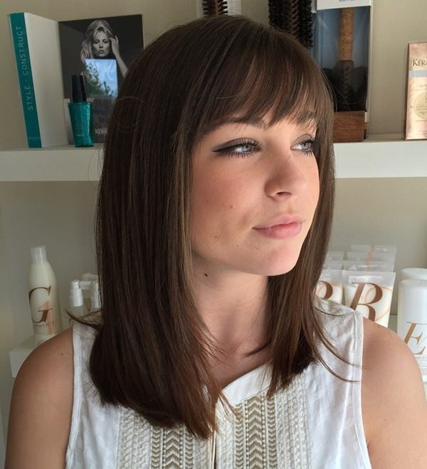 Shoulder Length Haircuts For Girls Straight 81