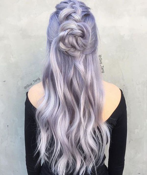 45 Incredible Lavender Hair Style That Will Blow Your Mind