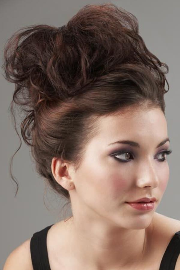 up styles for thick hair 34 step by step tutorials to get the bun 6938