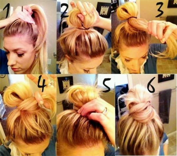 34 Step By Step Tutorials To Get The Perfect Messy Bun