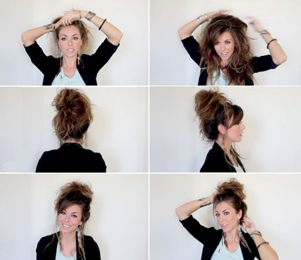 34 Step by Step tutorials to get the perfect Messy Bun! - Style Easily