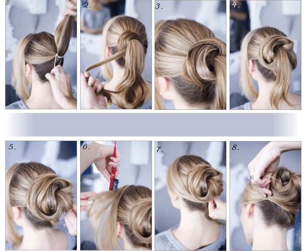 34 Step by Step tutorials to get the perfect Messy Bun ...