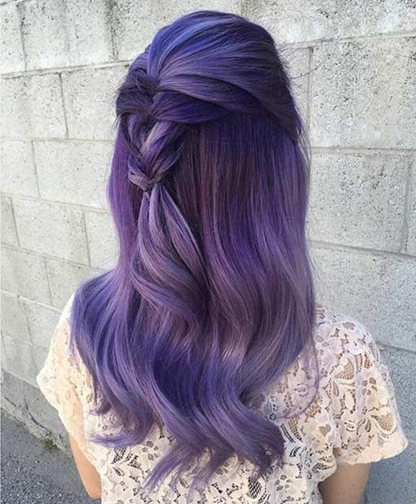 You Even Have The Option To Go Either Dark, Or Light On The Lavender Shade.  But We Cannot Decide Which Looks Better As Both Look Gorgeous.