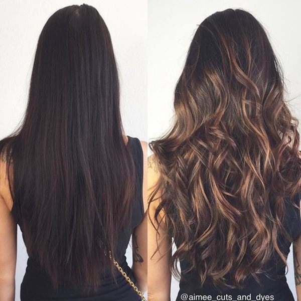 Different Shades Of Brunette Hair