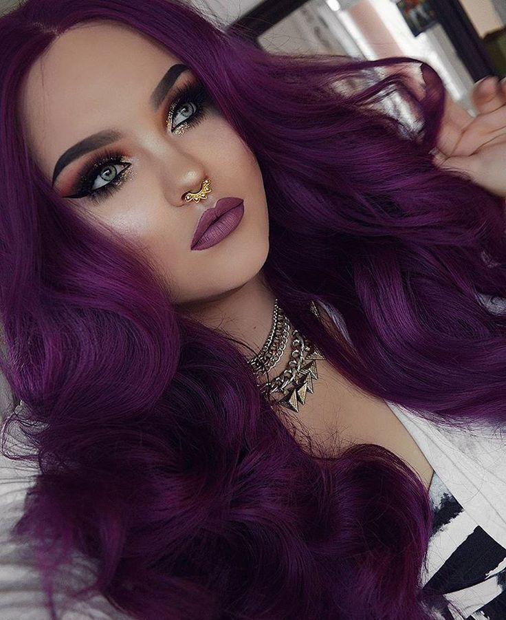 How to Dye Hair Purple from Blonde, Black and Brown - Style Easily