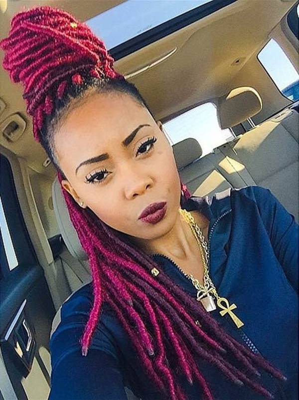 38 Ingenious Faux Locs Hairstyle That Will Make Heads Turn Style