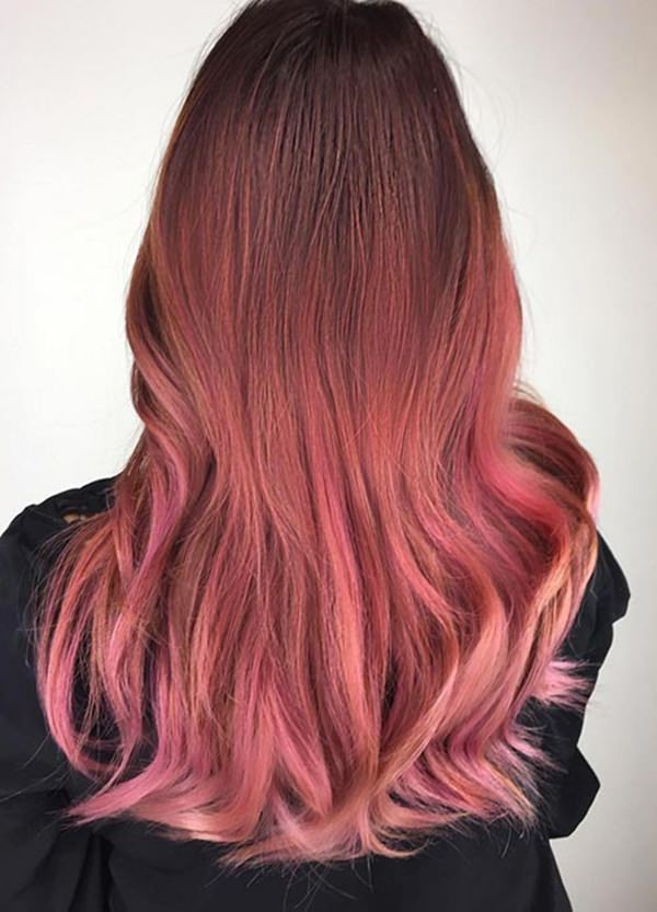 51 Stunning Rose Gold Hair To Steal The Show Style Easily Interiors Inside Ideas Interiors design about Everything [magnanprojects.com]