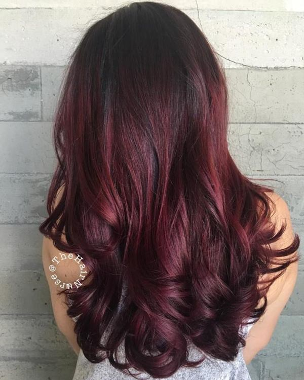 62 Burgundy Hair Shades That Will Make Your Day Style Easily