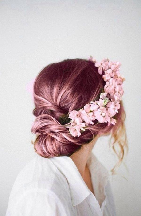 Blonde Hair With Rose Gold Highlights Best Image Of Blonde Hair 2018