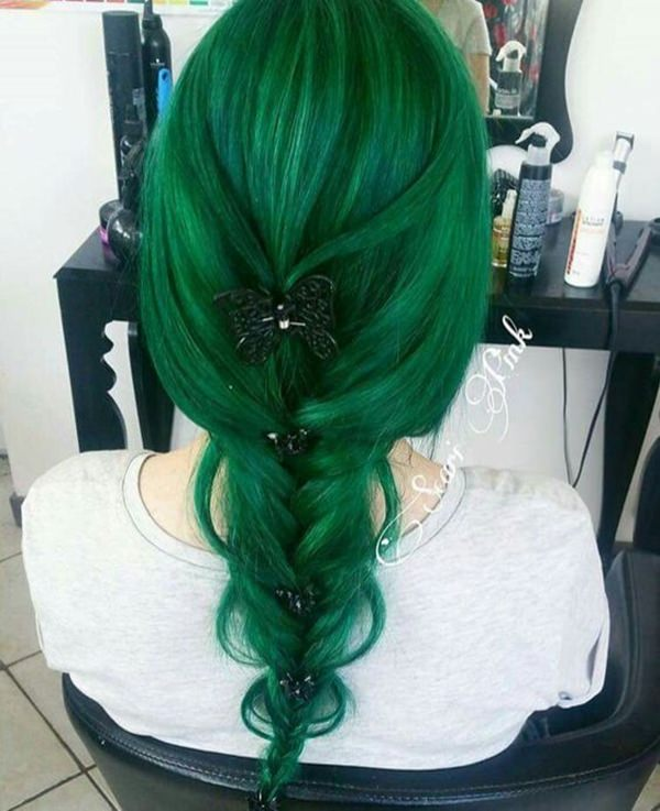 71 Green Hair Dye Ideas That You Will Love - Style Easily