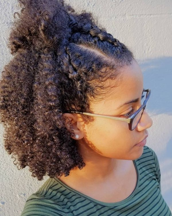 55 Super Cute Natural and Short Hairstyles - Style Easily