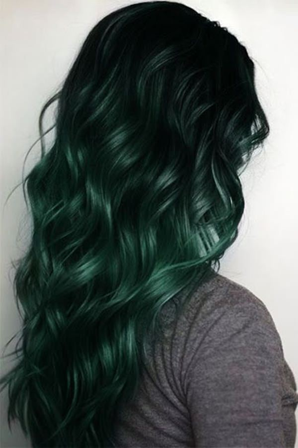 Image result for green hair ideas