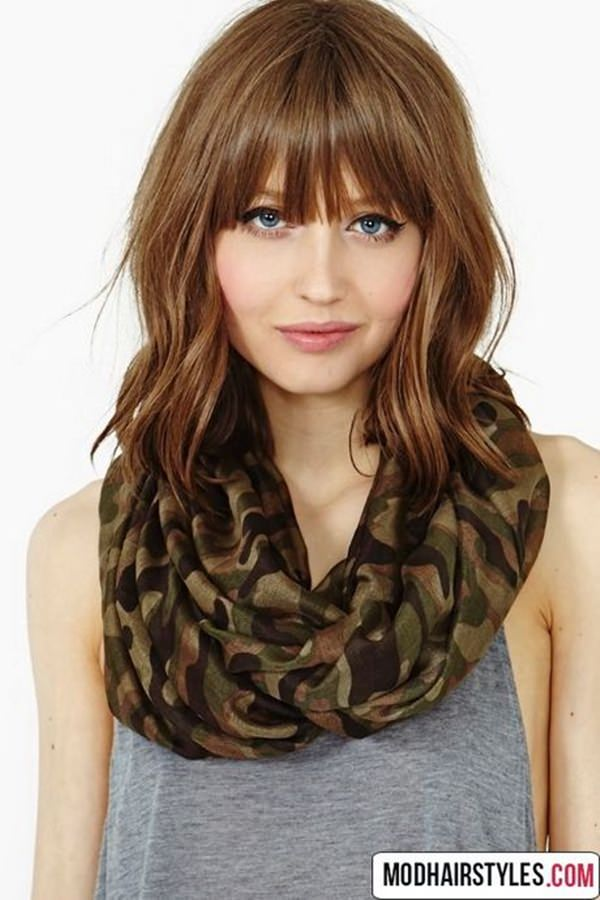 77 Fabulous Hairstyles with Bangs for 2020 - Style Easily