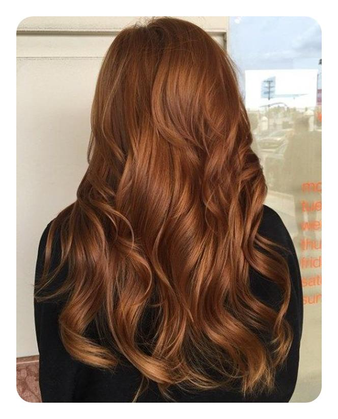I Love The Light Chestnut Hair Colour It Looks Like Nature Decided To Fall On You This Autumn Her Is Wavy And Long Which Gives More Area For