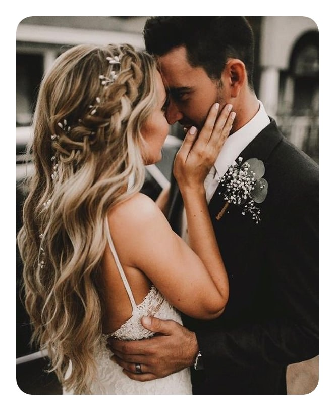 For Your Special Day, You Can Go For A Bohemian Wedding Hairstyle. Yes,  This Is One Of The Most Beautiful Types Of Boho Hairstyles For Long Hair.