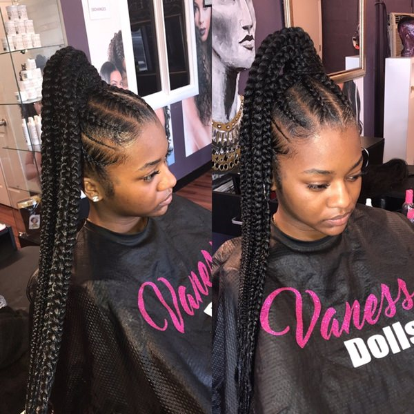 Pony S Go Under The New Feed Inids Designs After You Have Decided To Get Yourself This Hairstyle You Should Book Yourself For That Appointment