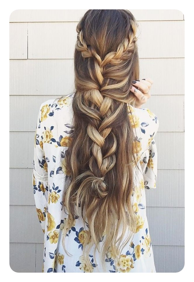 Boho curly hairstyles