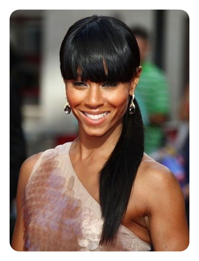 110 Ponytail With Bangs Ideas For A Good Hair Day Style Easily
