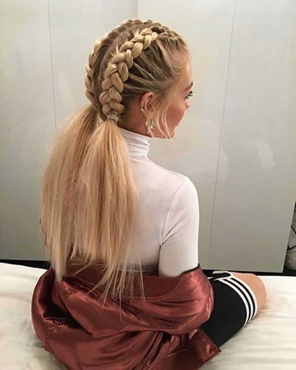 187 Braided Ponytail Ideas And How To Do Them Style Easily