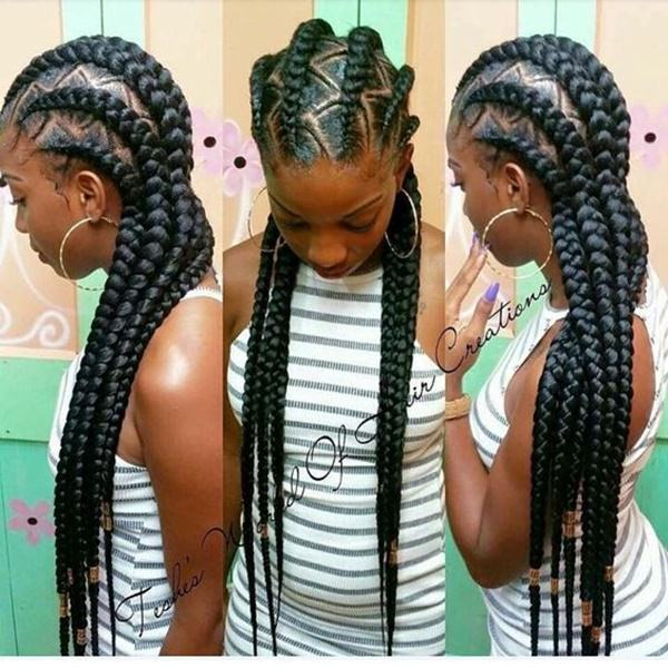 43 New Feed In Braids And How To Do It Style Easily