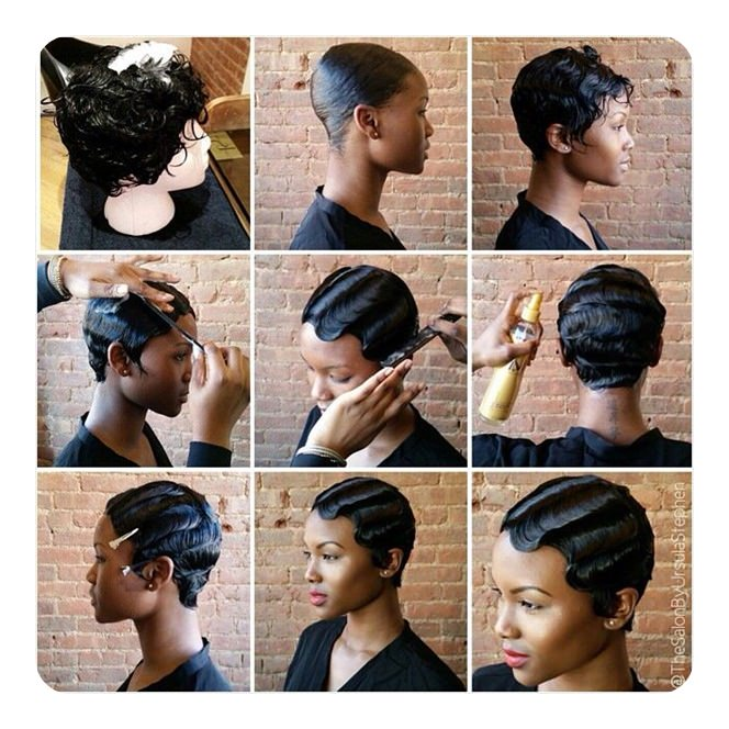 91 Stylish Finger Waves Hairstyles And How To Do It - Style Easily