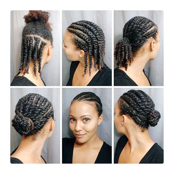flat twist hair style 85 best flat twist styles and how to do them style easily 9548