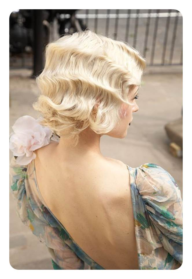91 Stylish Finger Waves Hairstyles And How To Do It