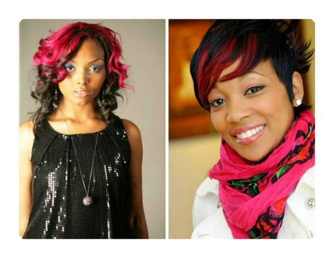 90 Highlights For Black Hair That Looks Good On Anyone Style Easily