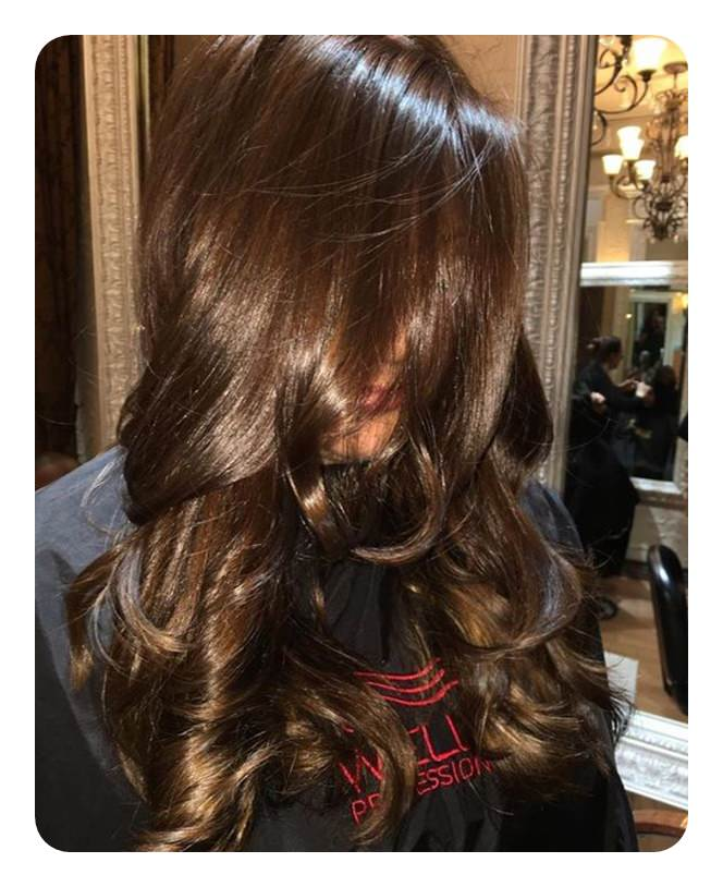 104 Creamy Chocolate Brown Hair Styles Ideas Style Easily,Short Curtains For Small Bedroom Windows