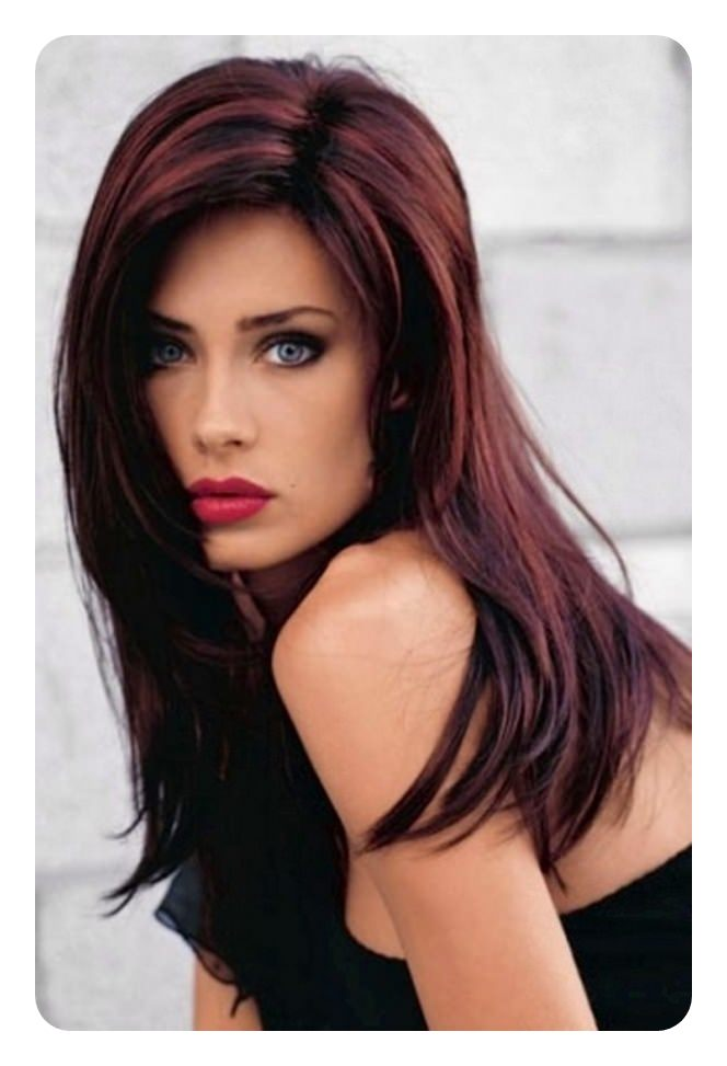 What Color Highlights Look Best For Black Hair Hairstly