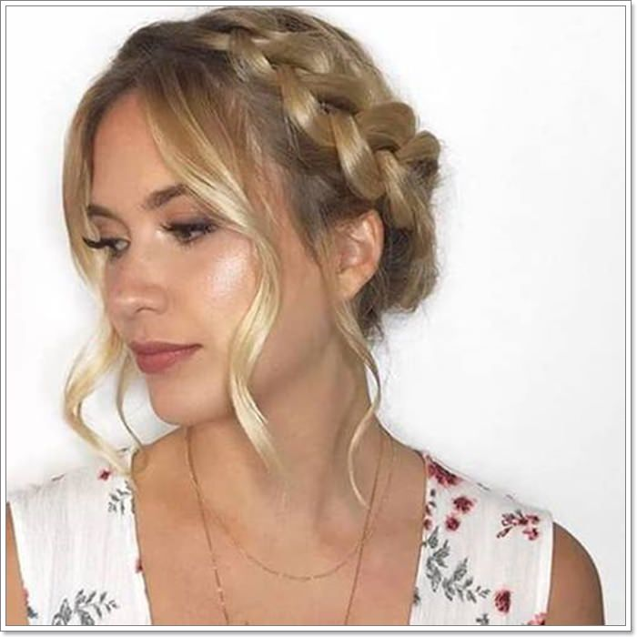 105 Stunning Halo Braid For All Kind Of Event Style Easily