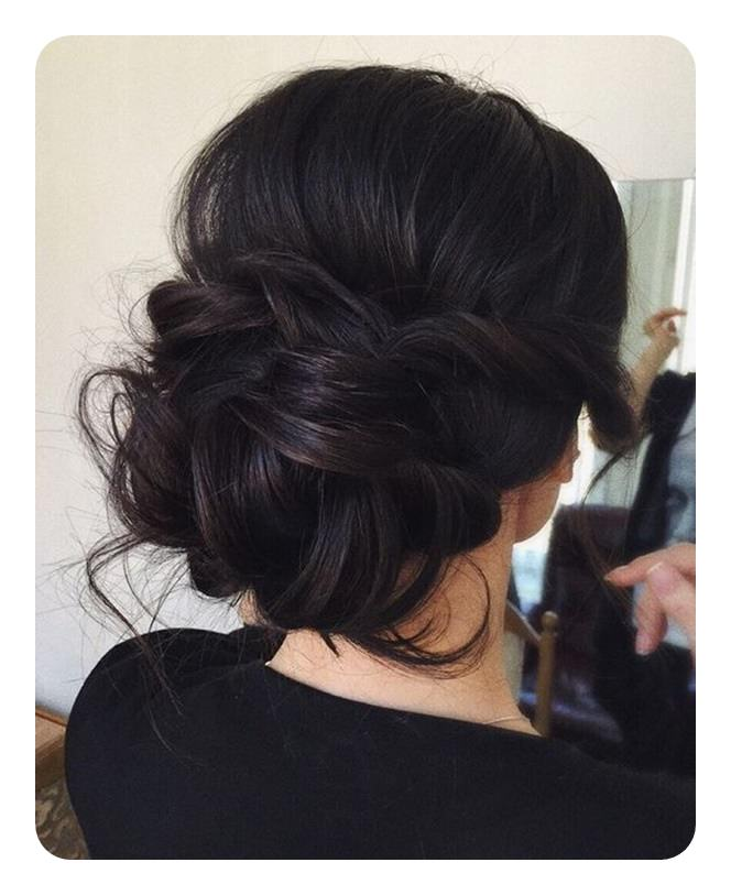 Simple Hairstyle For Wedding Dinner: 87 Easy Low Bun Hairstyles And Their Step By Step