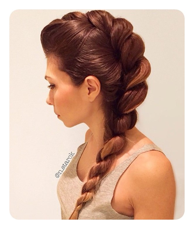 84 Gorgeous Rope Braids Updos And How To Do Them Style Easily