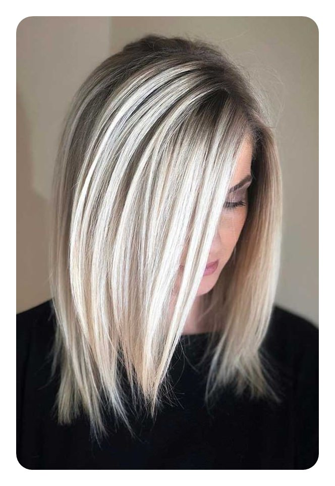 66 Beautiful Long Bob Hairstyles With Layers For 2019 Style Easily